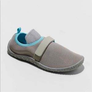 Cat&Jack Boys Grey Water Shoes